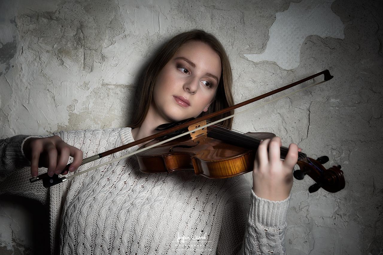 Outdoor mit Violine (TfP)